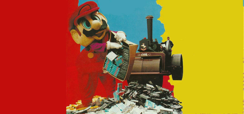 Nintendo piratería apisonadora