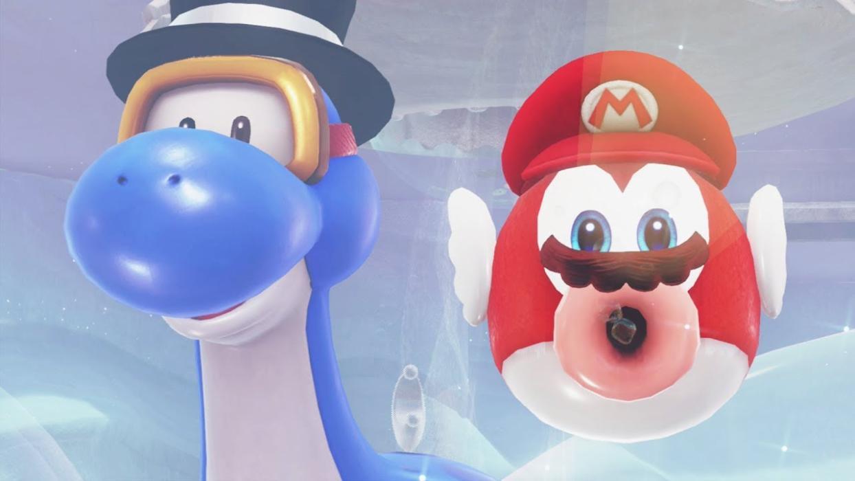 Super Mario Odyssey - Reino del Lago