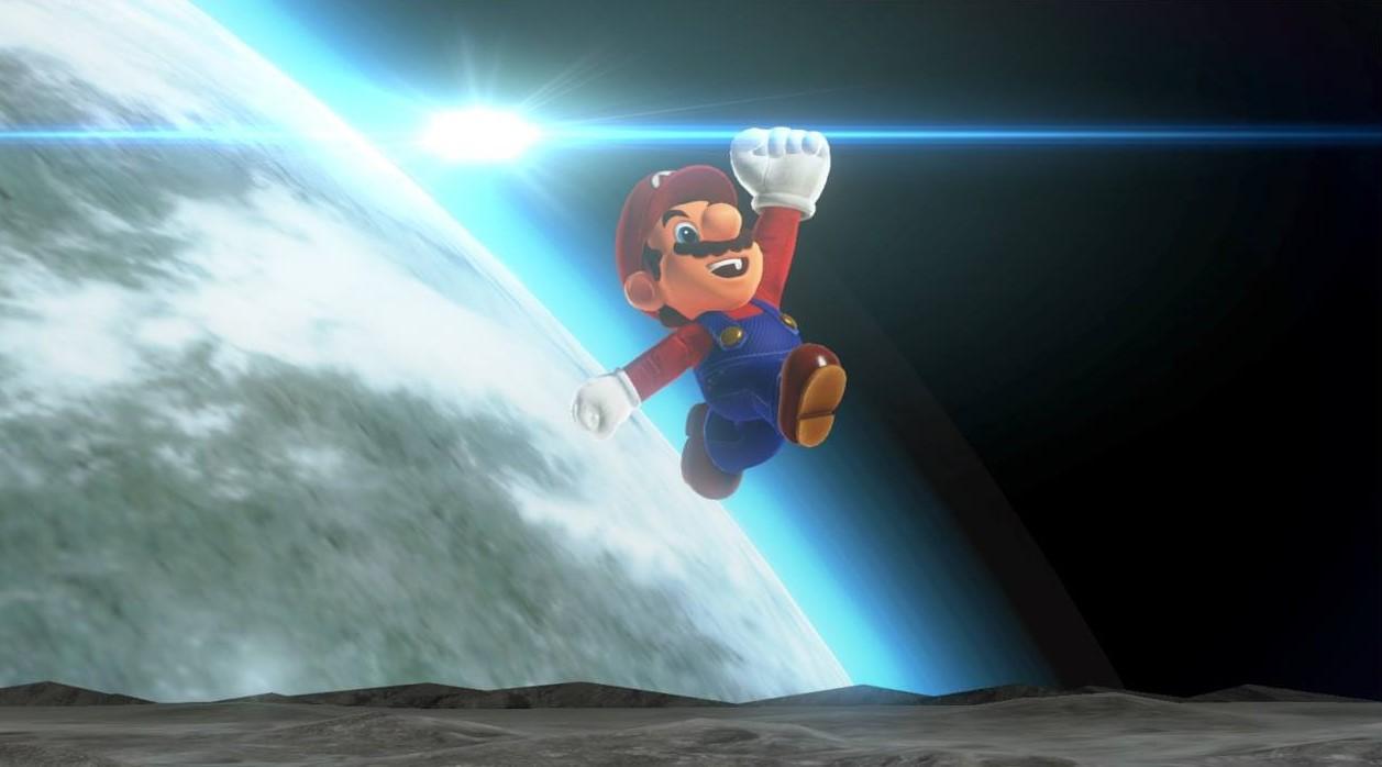 Super Mario Odyssey Reino Luna