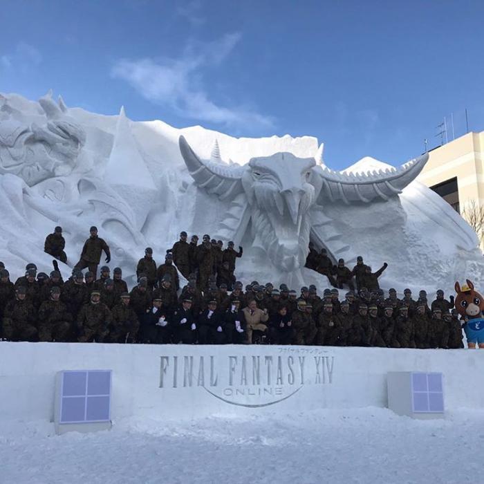 Escultura FFXIV