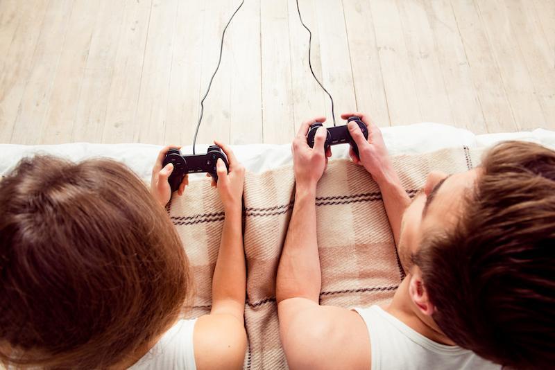 jugar en pareja a videojuegos