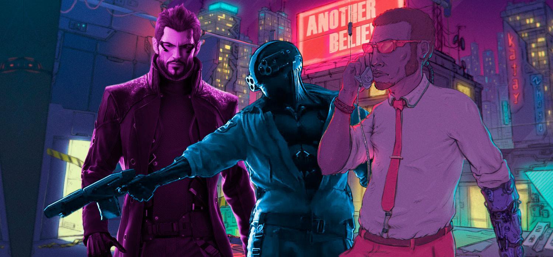 Mejores juegos Cyberpunk Deux Ex Cyberpunk 2077 Blade Runner