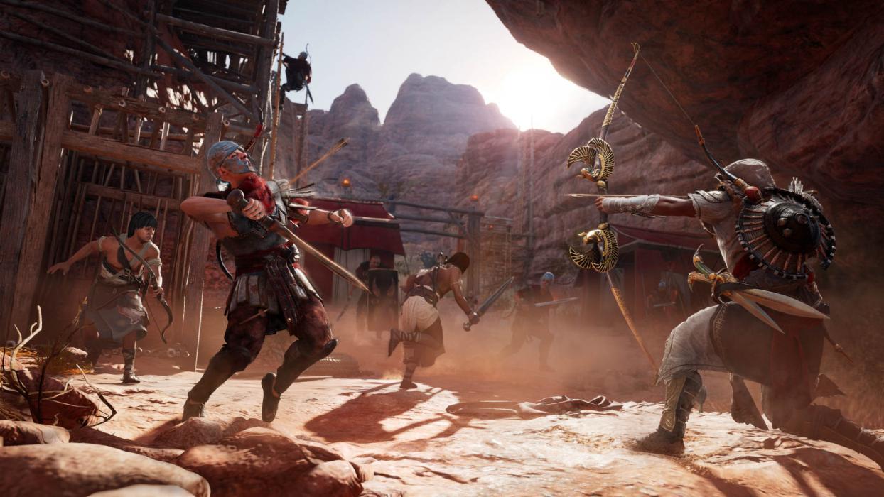 Assassins Creed Origins nuevo juego +