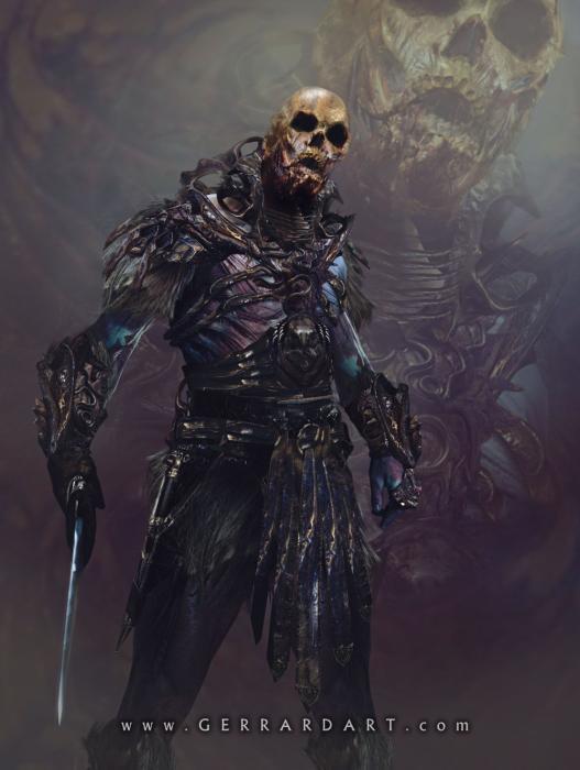 Concept art Skeletor