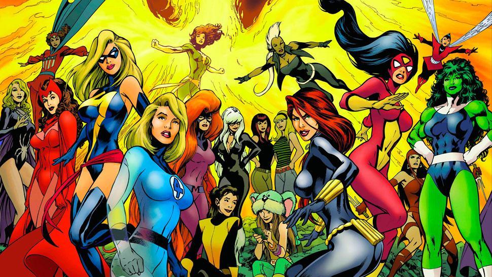 superheroínas marvel