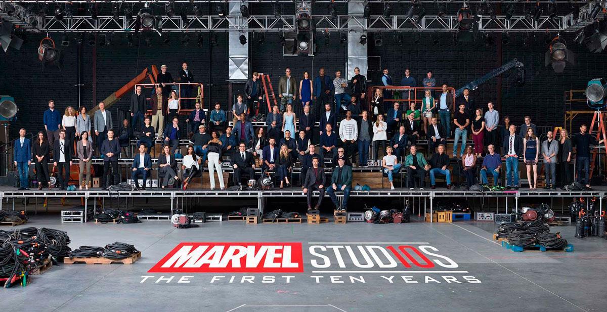 Universo Cinematográfico de Marvel 10º Aniversario