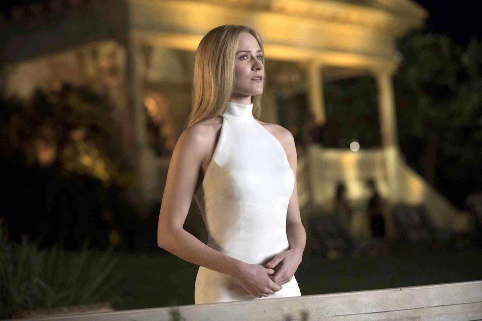 Evan Rachel Wood en la temporada 2 de Westworld