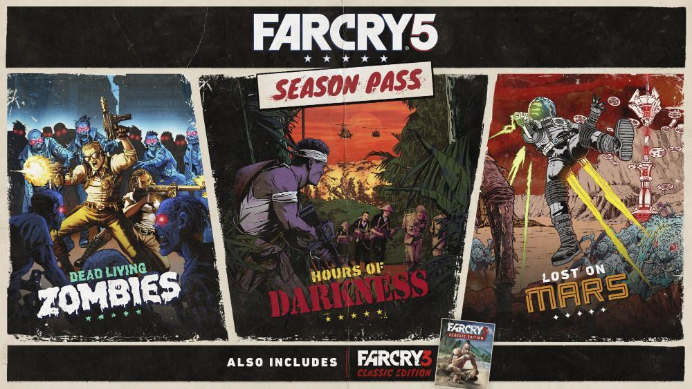 Far Cry 5 - Contenido DLC del pase de temporada