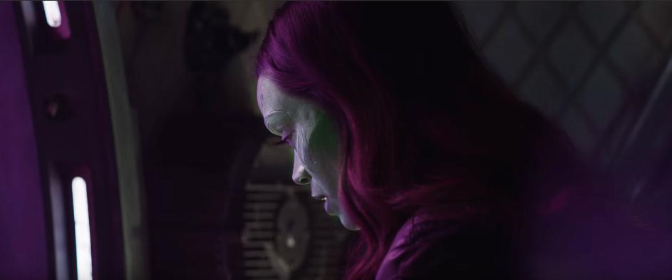 Gamora en Vengadores: Infinity War