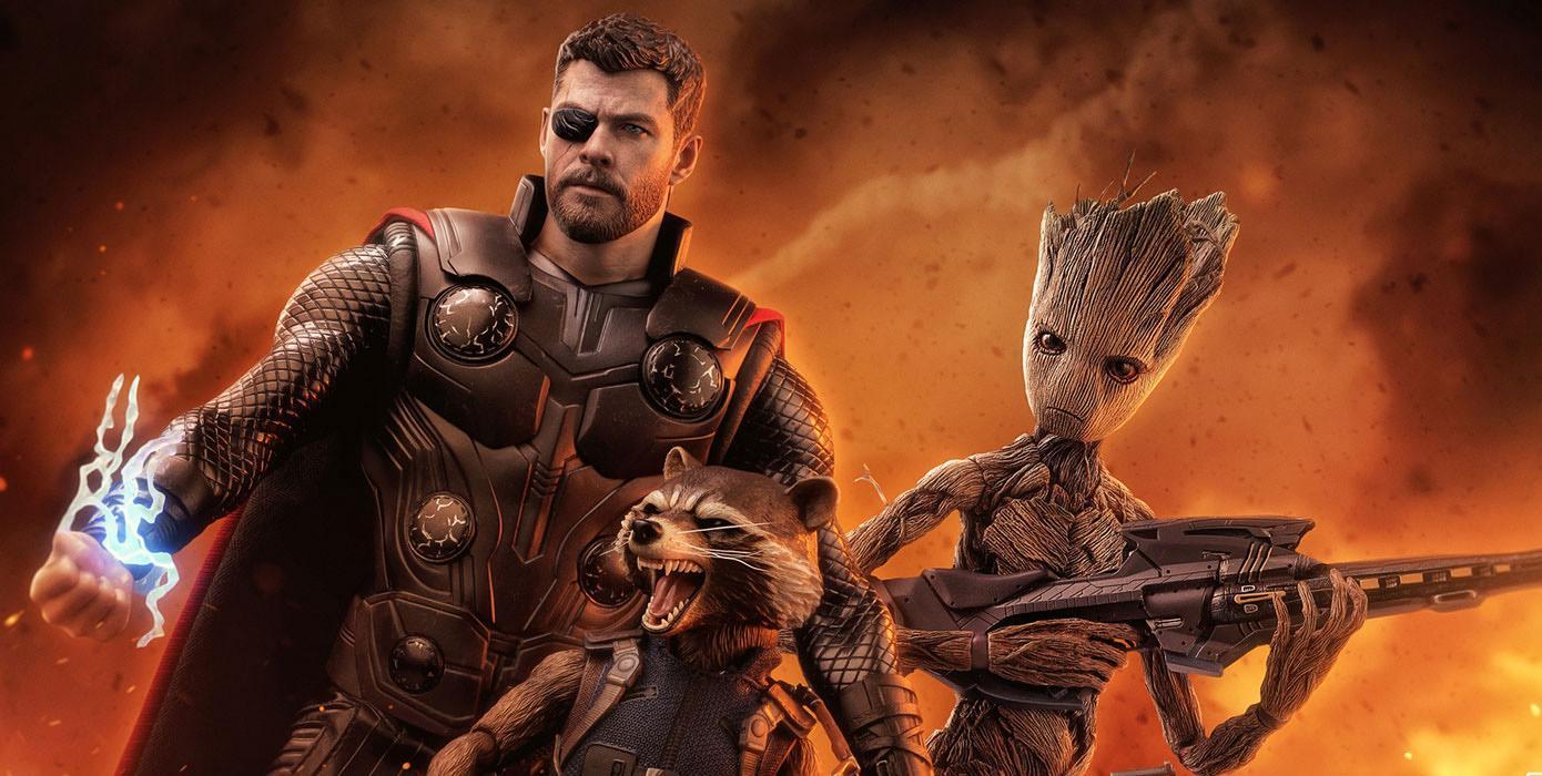 Thor en Vengadores: Infinity War. Hot Toys