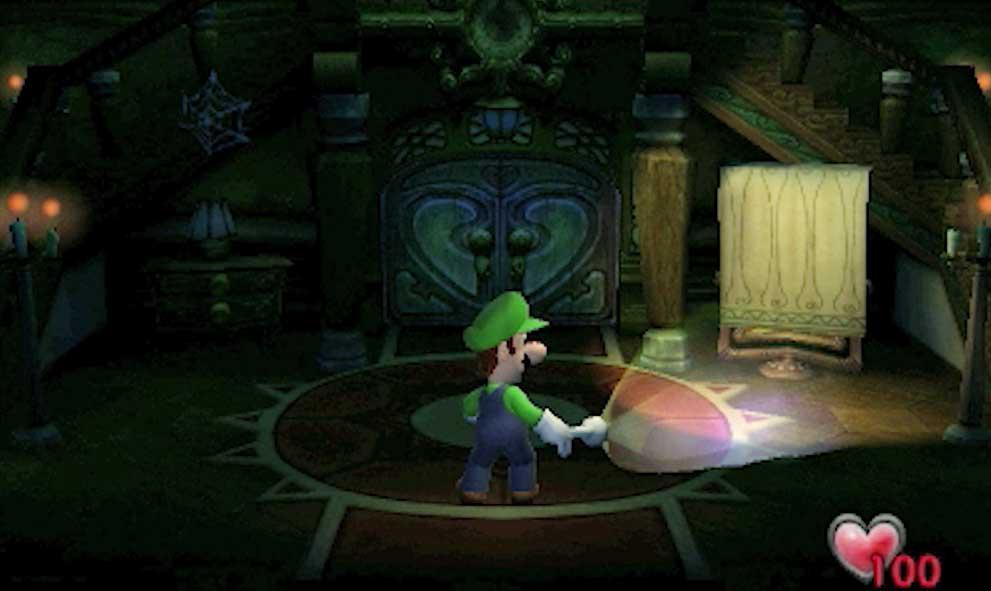 Luigi's Mansion para 3DS