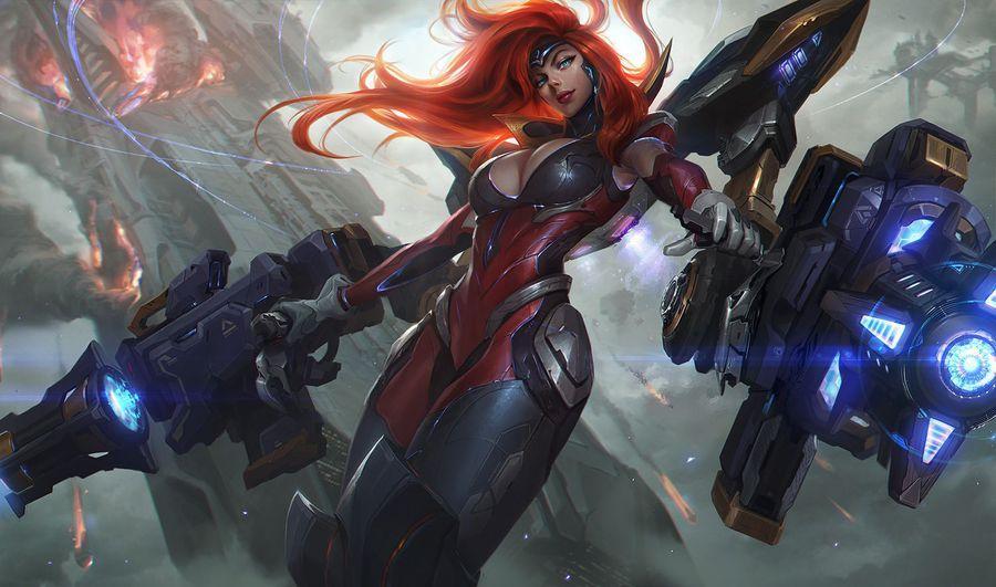 Miss Fortune diosa de las armas