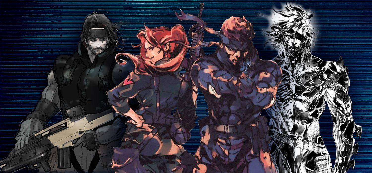 Metal Gear Solid spin-off Rising Survive Ghost Babel Acid