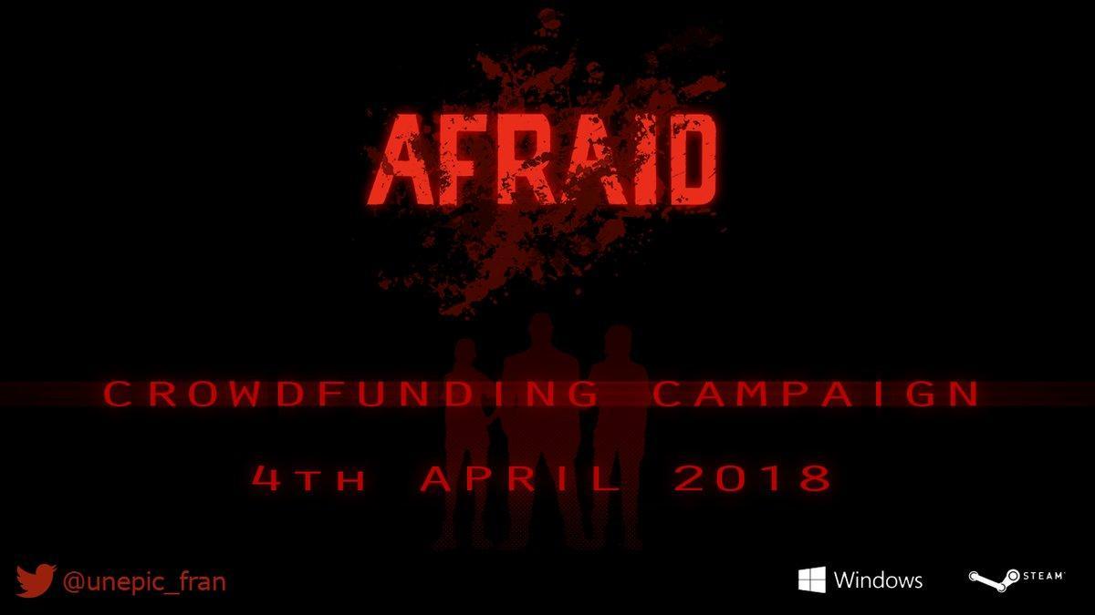 Afraid Kickstarter