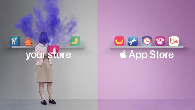 anuncio apple android