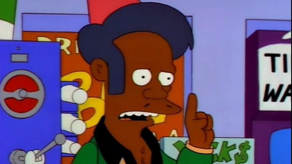 Apu en Los Simpson