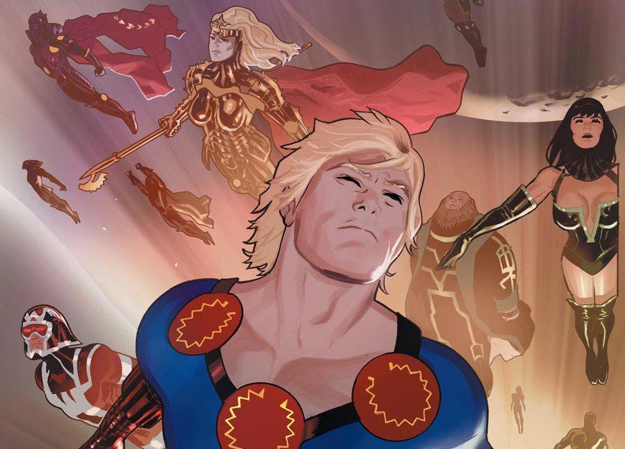 Eternos Marvel cómics