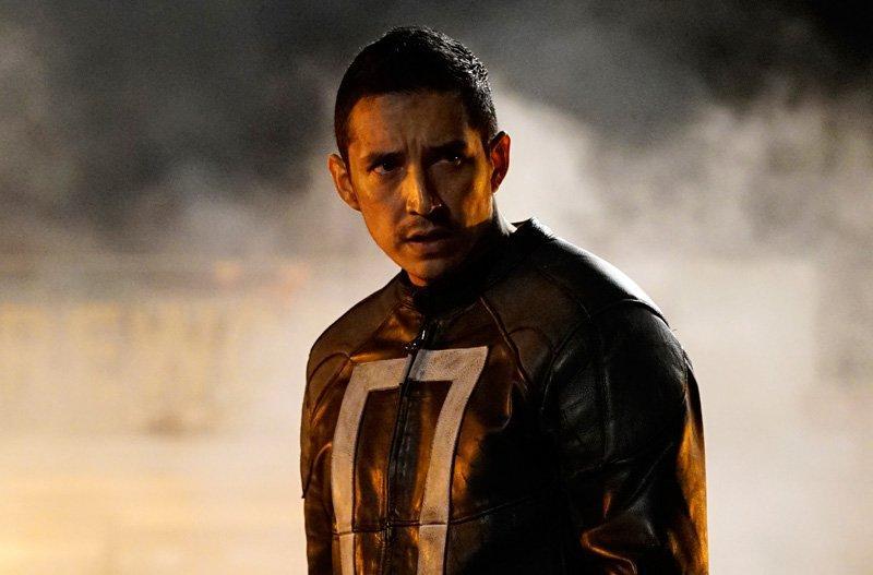 Gabriel Luna como Ghost Rider en Agents of S.H.I.E.L.D.