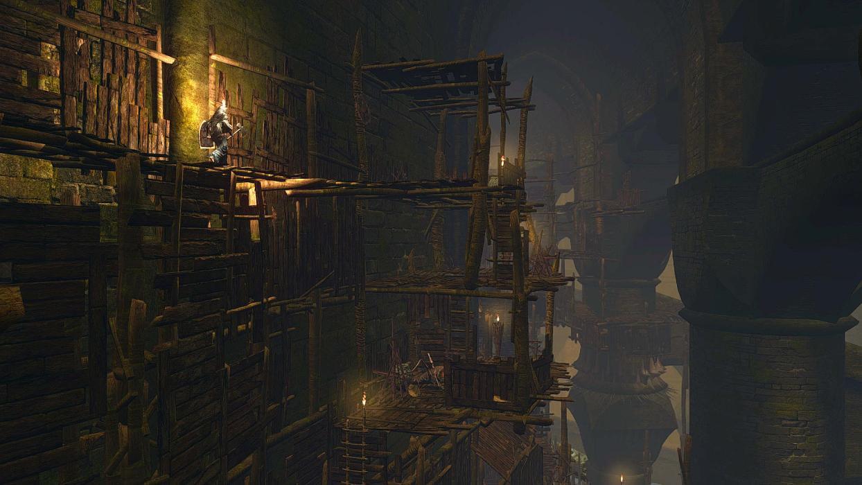 Dark Souls Nintendo Switch Blighttown gameplay