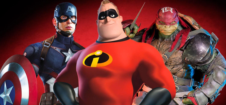 Cales son as películas de superheroes