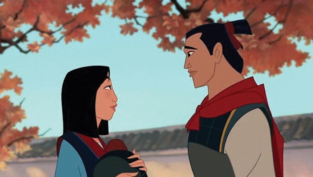 Mulan y Li Shang