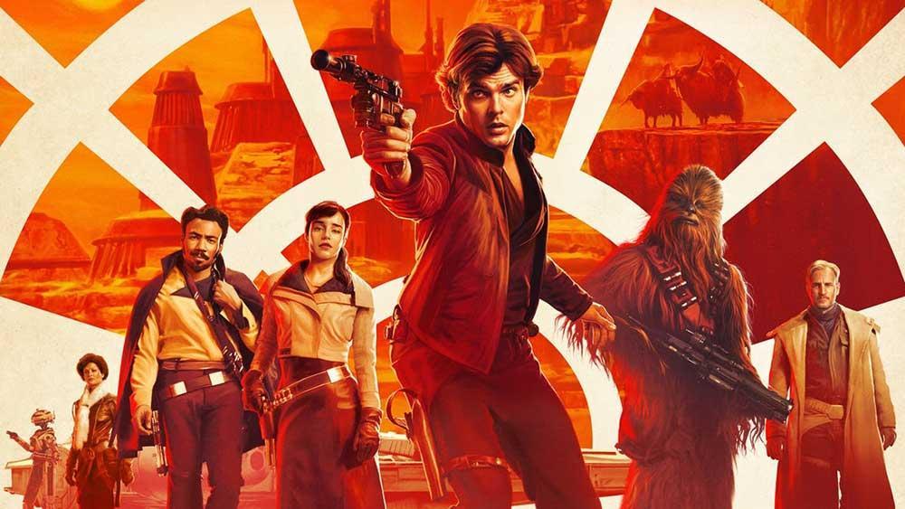 Póster Han Solo: Una historia de Star Wars