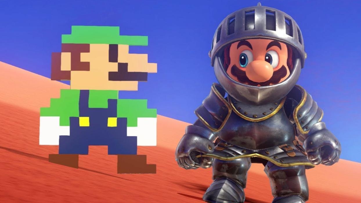 Super Mario Odyssey pistas artísticas