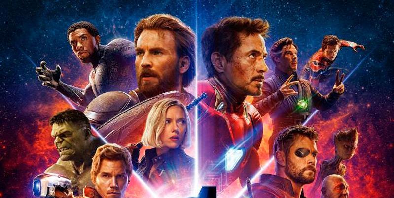 'Vengadores: Infinity War' alcanza los 2000 millones de dólares en recaudación mundial