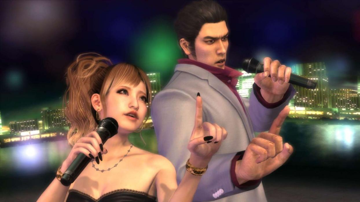 Yakuza 3 4 5 remaster PS4