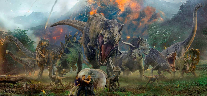 Dinosaurios Jurassic World: el reino caído