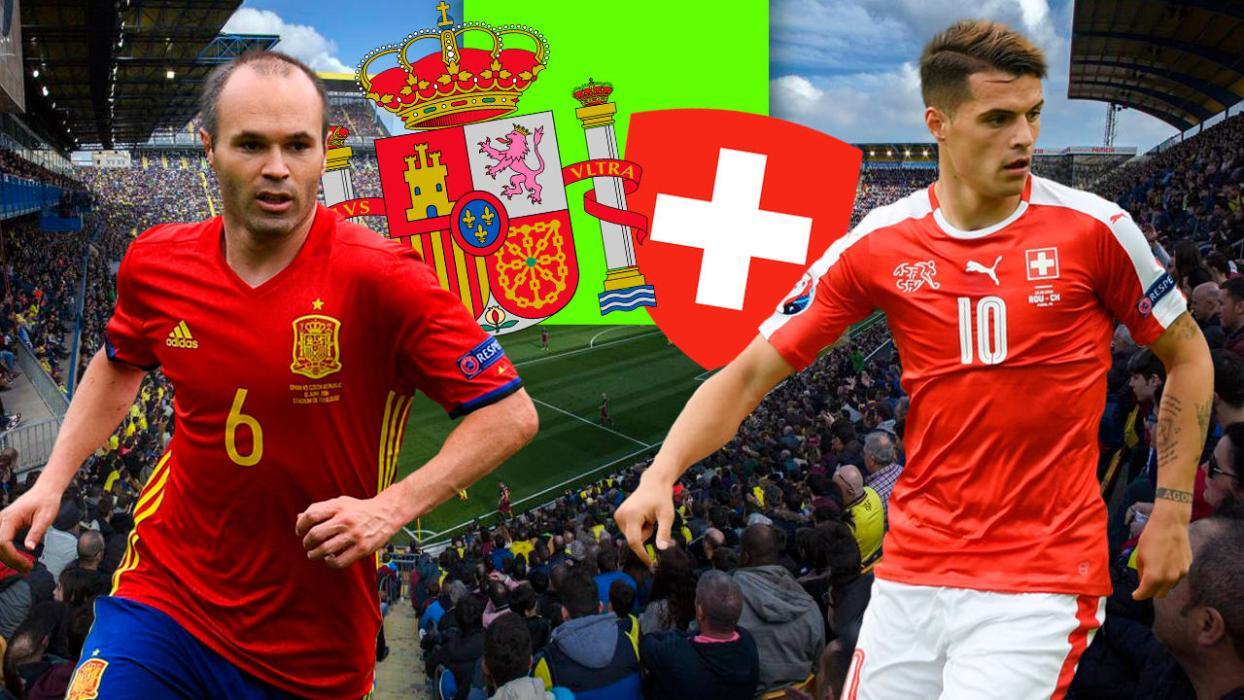 España Suiza de fútbol