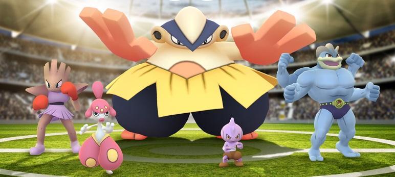 Pokémon GO - Desafío Lucha