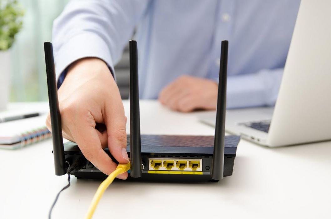 router wifi con antenas
