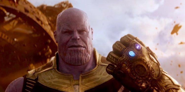 Vengadores Infinity War Thanos