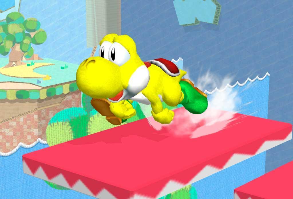Yoshi Super Smash Bros