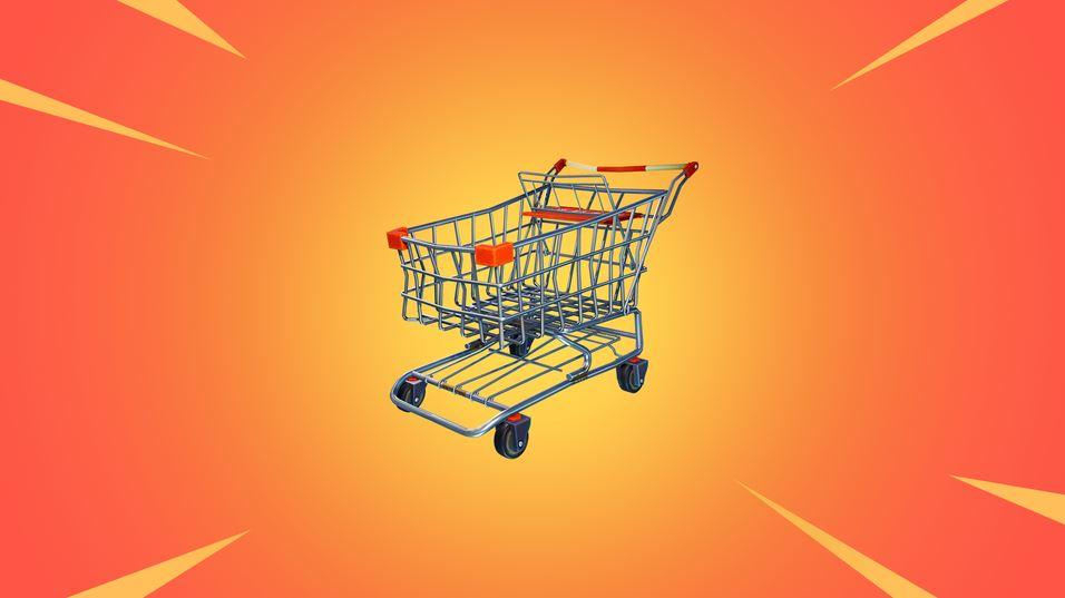Carrito de la compra Fortnite Battle Royale