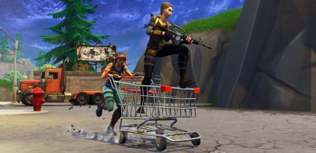 Fortnite Battle Royale - Carrito de la compra