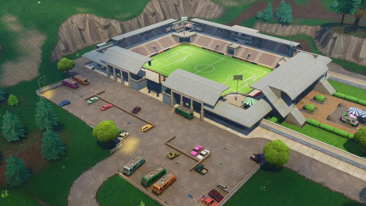 Fortnite Campos de Fútbol