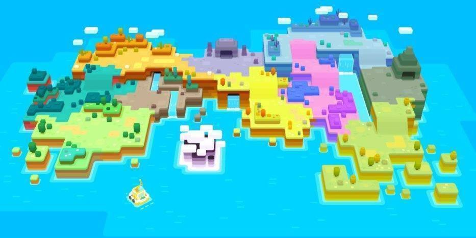 Mapa Pokémon Quest