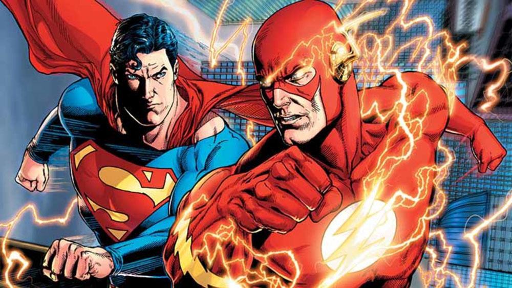 Superman y Flash