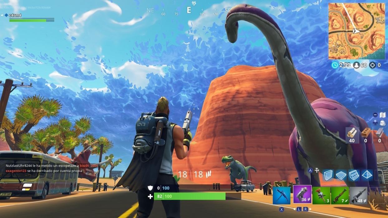 Apertura Fortnite Mapa Oasis