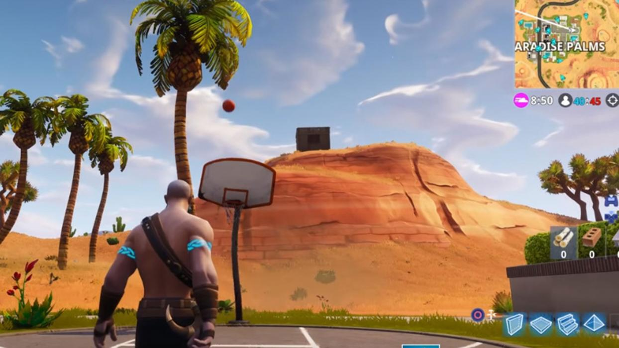 Canchas baloncesto Fortnite