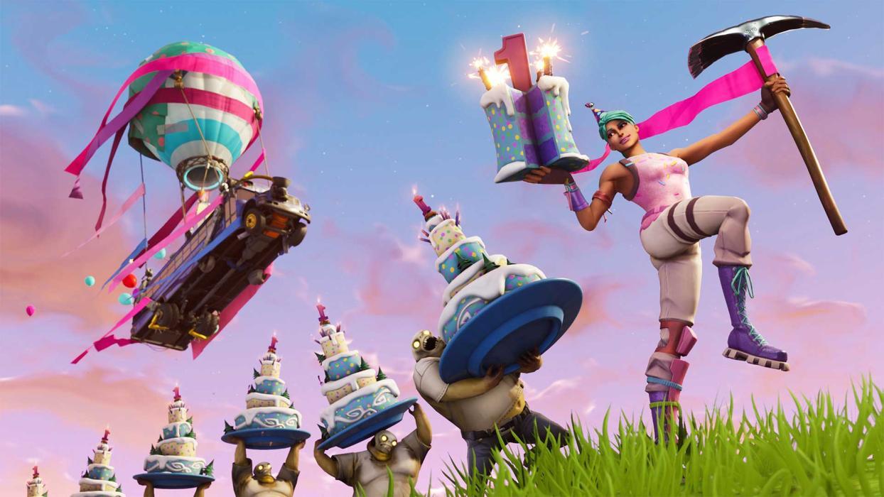 Baila delante de pasteles de cumpleaños en Fortnite, cómo ...