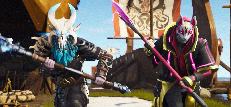 Fortnite Battle Royale - Deriva y Ragnarok