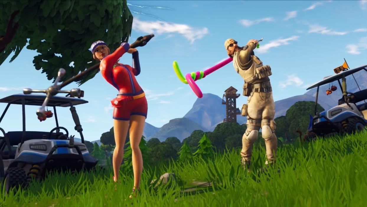C mo jugar al golf en fortnite temporada 5 gu as y for Fortnite temporada 5 sala