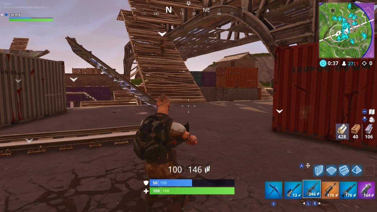 Inflige daño a las estructuras de los enemigos 1