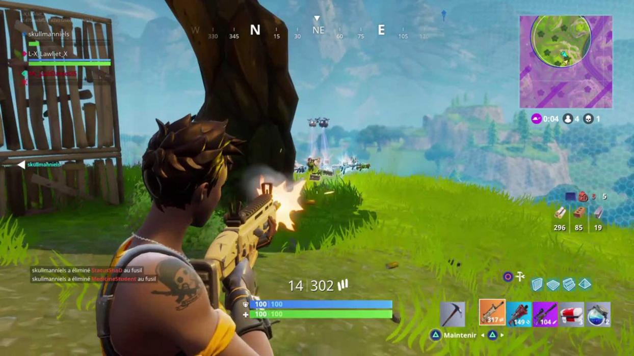 Rushear en Fortnite
