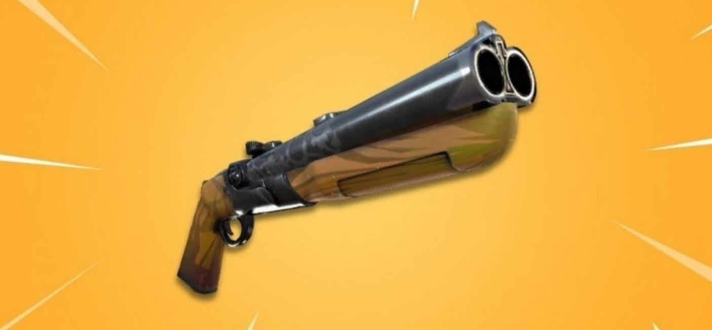 Fortnite Battle Royale - Escopeta de doble cañón