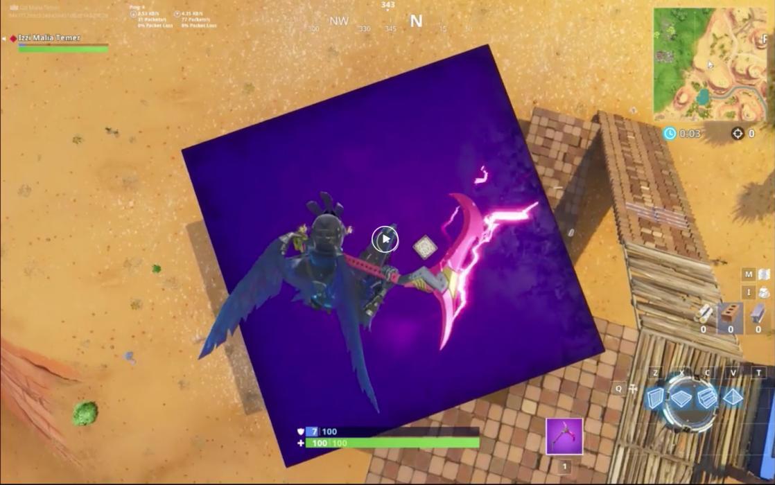 Fortnite cubo