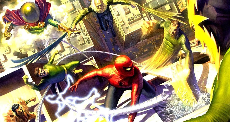 Los Seis Siniestros, de Spider-man, a lo largo de los años